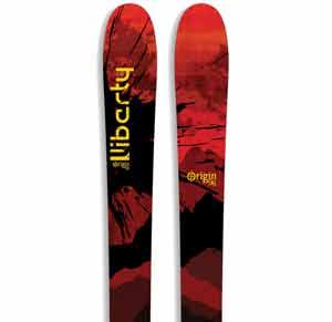 2018 Liberty Origin 96 AT Setup Skis in 187cm For Sale