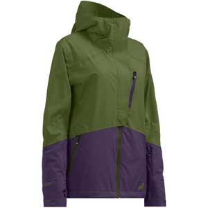 Cloud Nine Ski Jacket Pesto/Indigo S