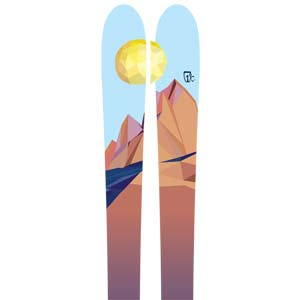 2018 Icelantic Oracle 88 Skis in 155cm For Sale