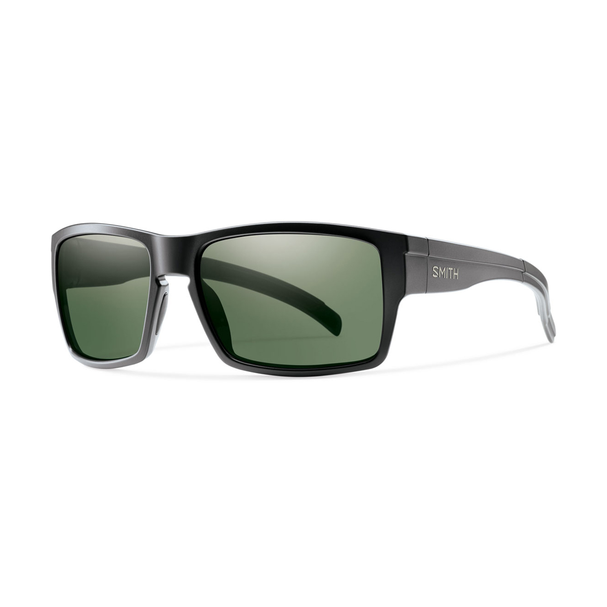 Matte Black with Polarized Gray Green Lens