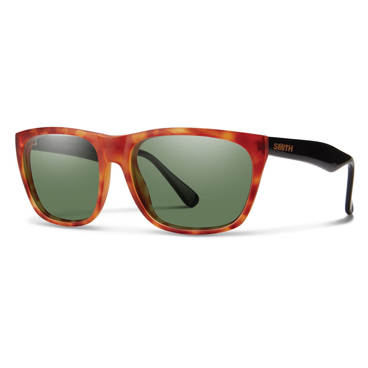Matte Honey Tortois with Polarized Gray Green Lens