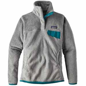 Re Tool Snap T Pullover Tailored Grey - Nickel X-Dye with Elwha Blue Extra Small