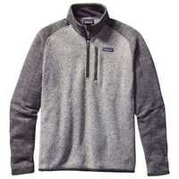 Better Sweater Quarter Zip Nickel w/ Forge Grey Small