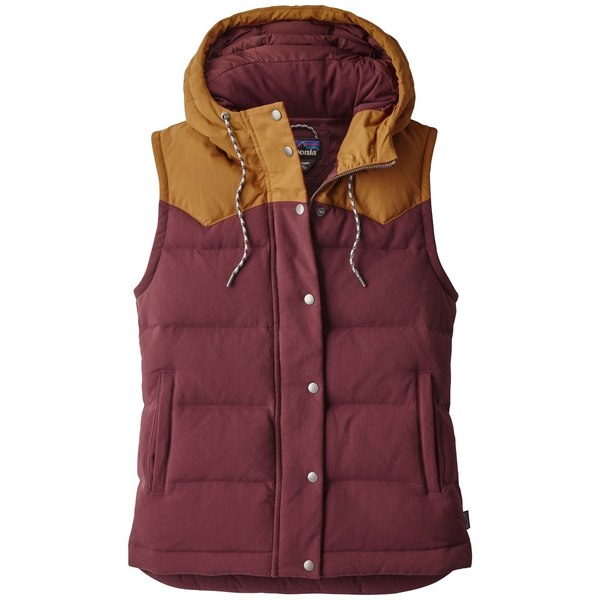 Patagonia Women S Bivy Down Hooded Vest Jacket On Sale
