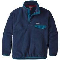 Synchilla Snap T Pullover Navy Blue Large