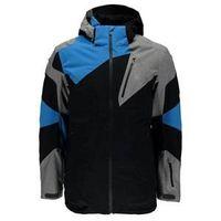 Leader Jacket Black/Polar Herringbone/French Blue S