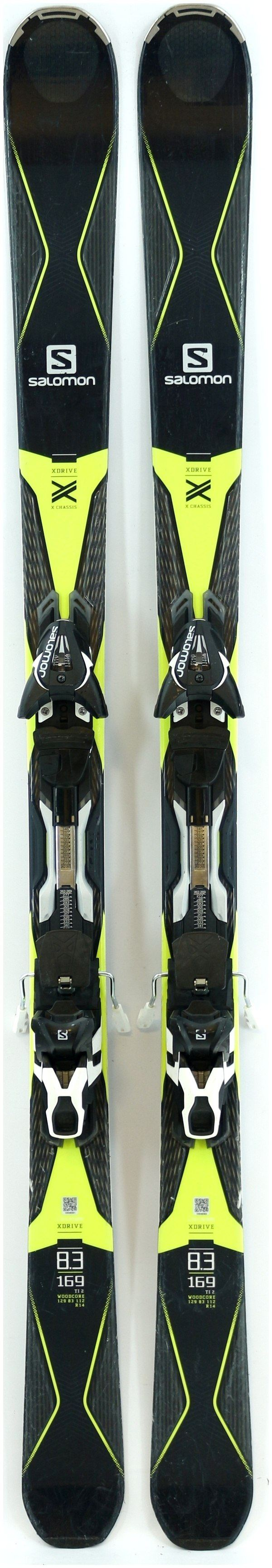 Salomon X drive 169cm Demo Ski W XT12 bindings