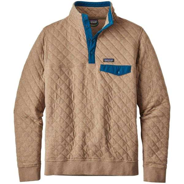 Patagonia Men S Cotton Quilt Snap T Pullover Sweater On