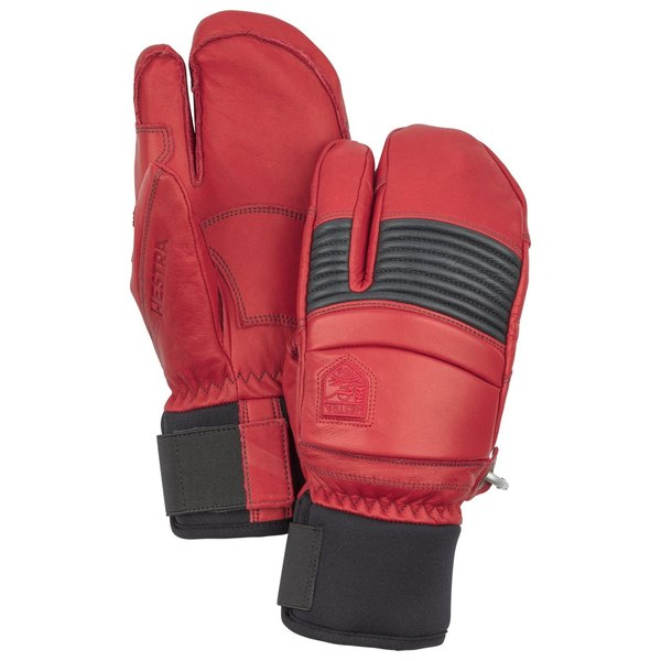 Fall Line 3 Finger Red/Grey 8