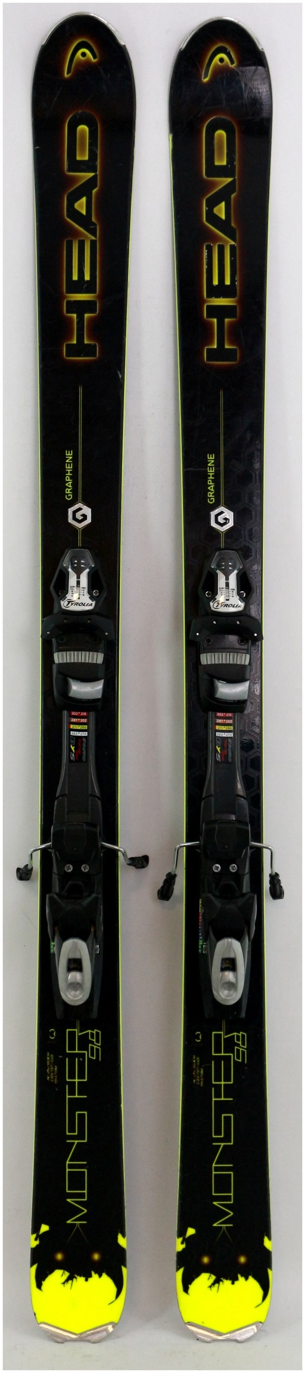 Tyrolia SP12 SYMPRO downhill ski bindings