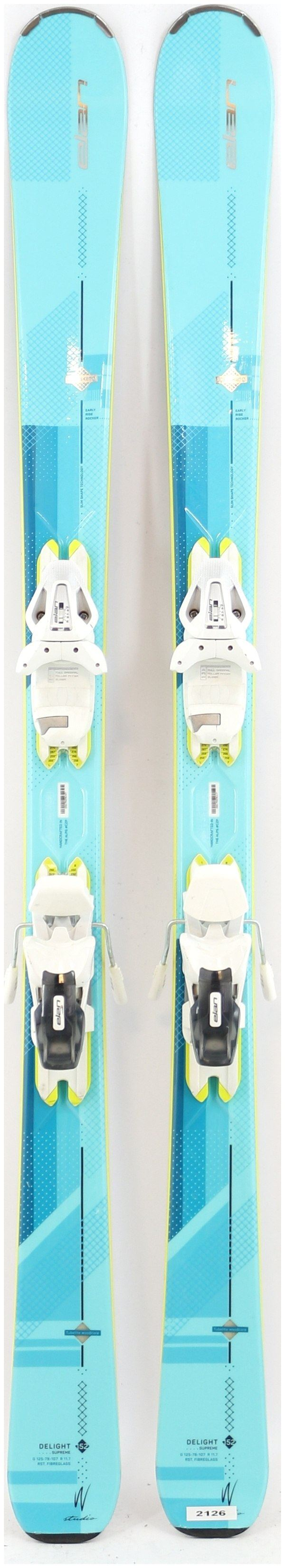 2018 Elan Delight Supreme 152cm Used Demo Skis On Sale   Powder7
