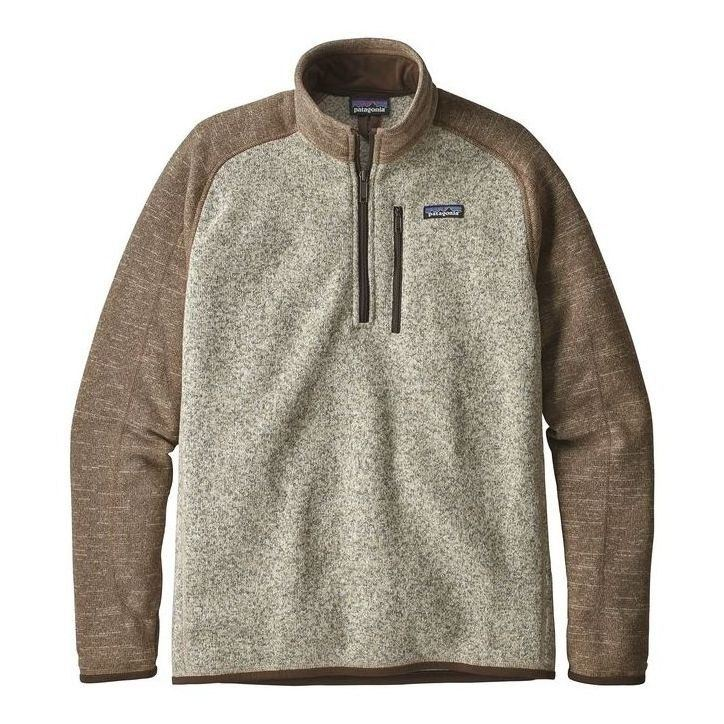 Patagonia Mens Better Sweater Quarter Zip On Sale Powder7com