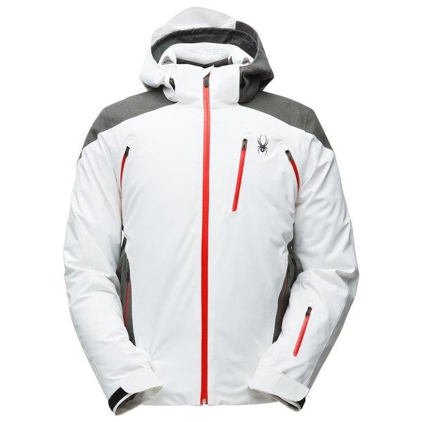 White/Wool Blend Twill/Volcano