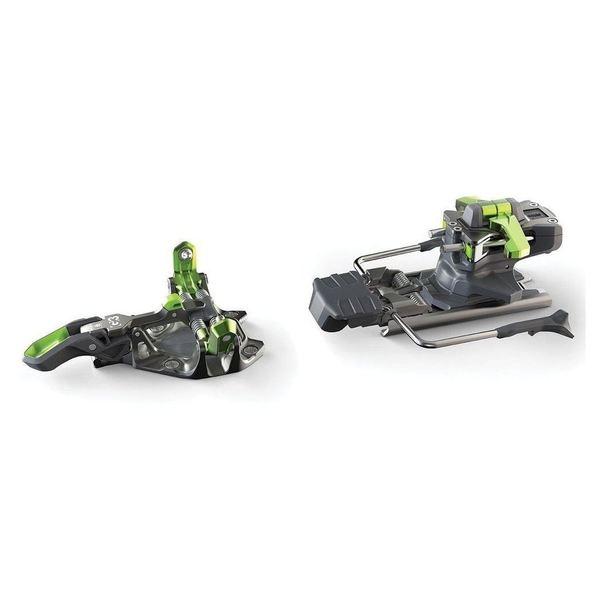 Gunmetal / Green