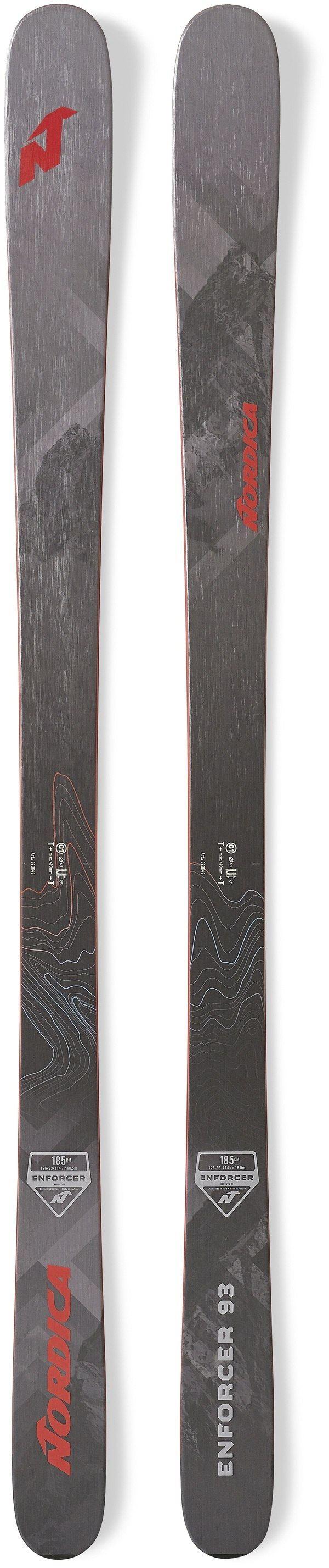 Flat Herren-Freeski Freeride-Ski Free-Ski Powderski Nordica Enforcer 93