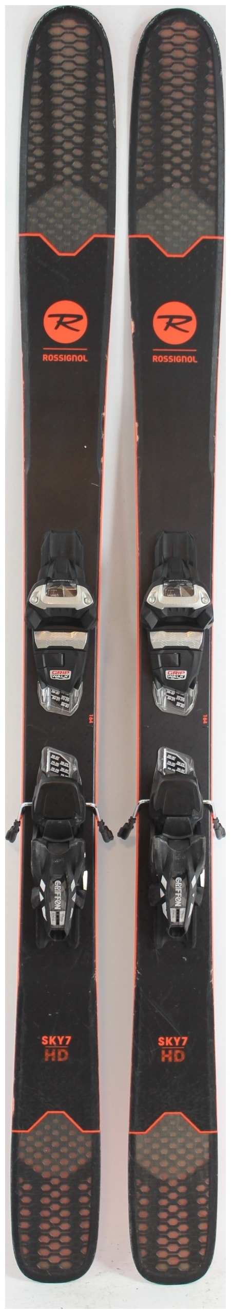 2019 Rossignol Sky 7 Hd Skis With Marker Griffon Demo Bindings Used Demo Skis 164cm