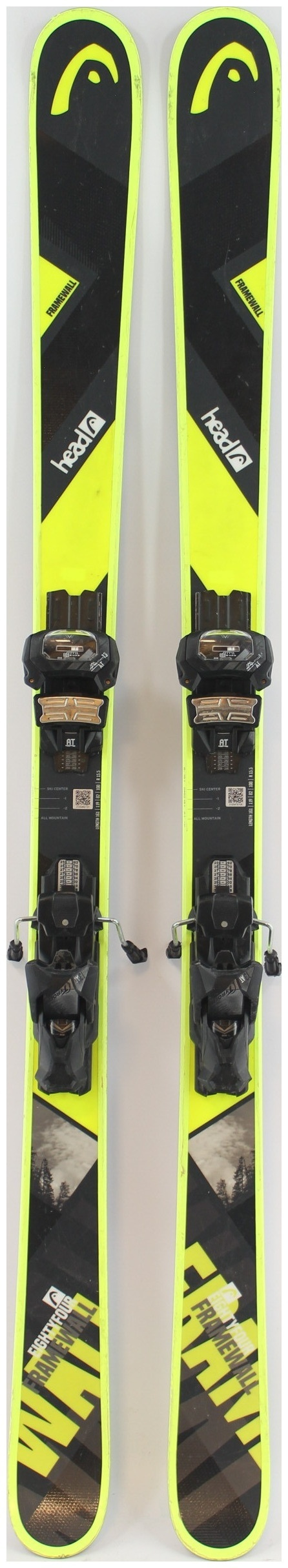HEAD 2019 Frame Wall 171cm Skis