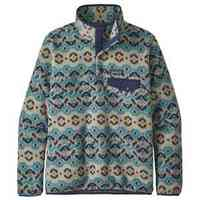 Lightweight Synchilla Snap T Pullover Tundra Cluster: Big Sky Blue Small