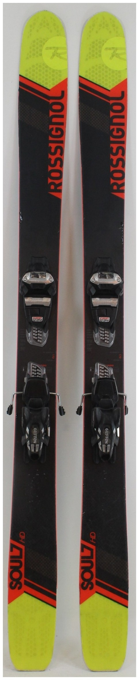 2017 Rossignol Soul 7 Hd Skis With Marker Griffon Demo Bindings Used Demo Skis 172cm