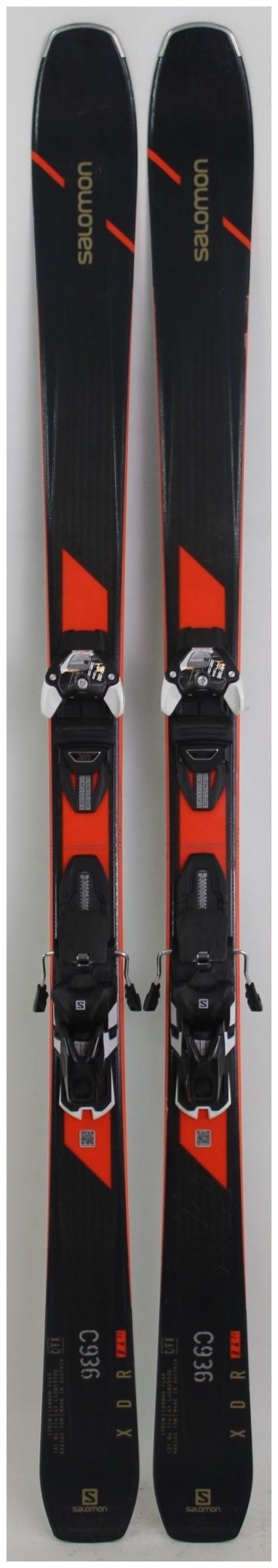 2020, Salomon, XDR 84 Ti Skis with Salomon Warden MNC 13 Demo Bindings Used Demo Skis 179cm