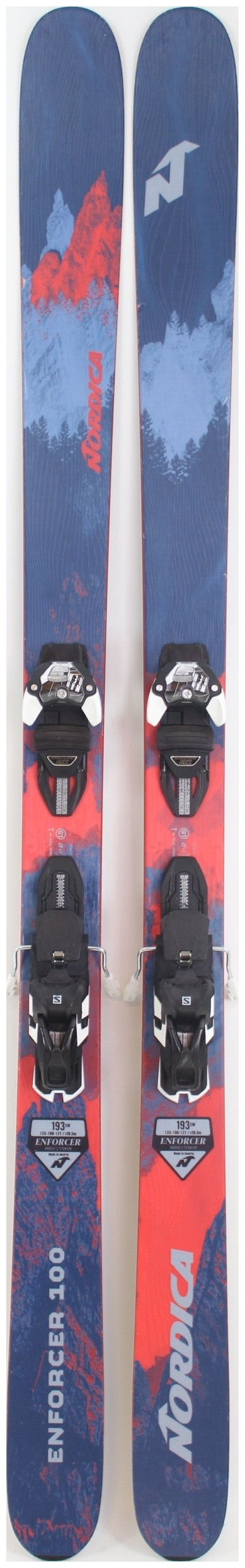Nordica Enforcer 100 Men's Skis 193 cm 2019
