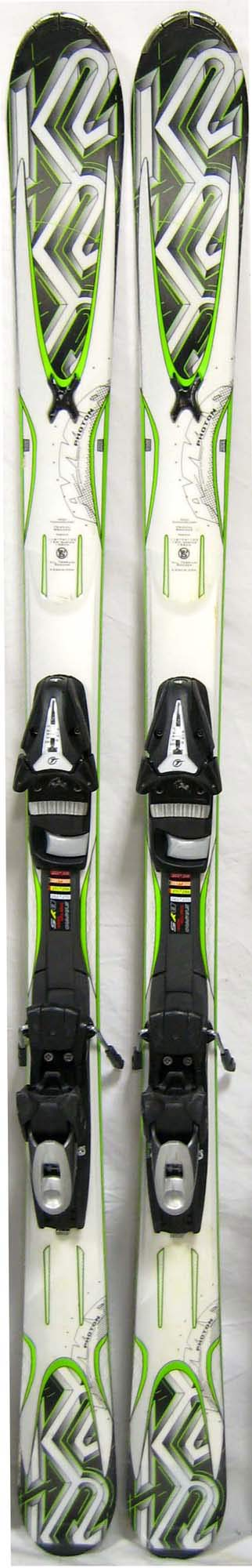 Topsheets of 2011 K2 Amp Photon Skis For Sale