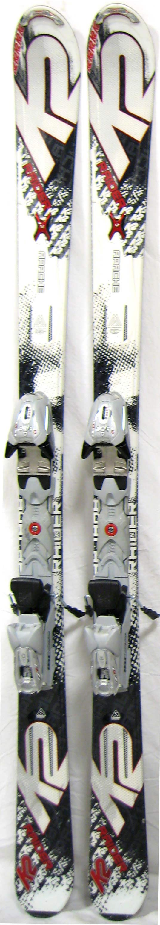 K apache raider cm skis w bindings mens all