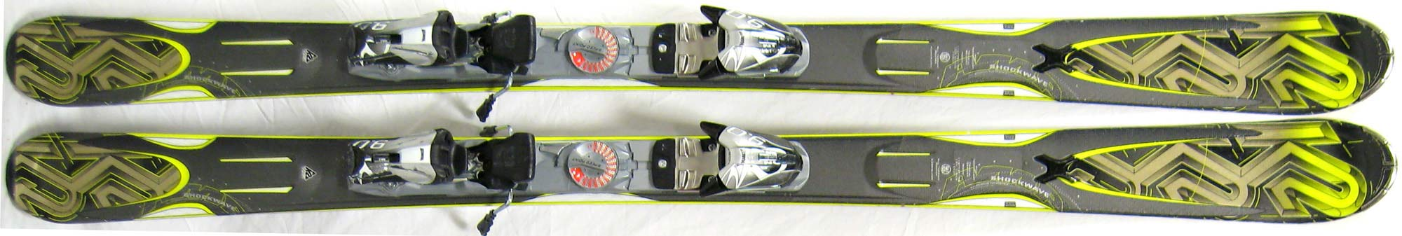 Topsheets of 2011 K2 Amp Shockwave Skis For Sale