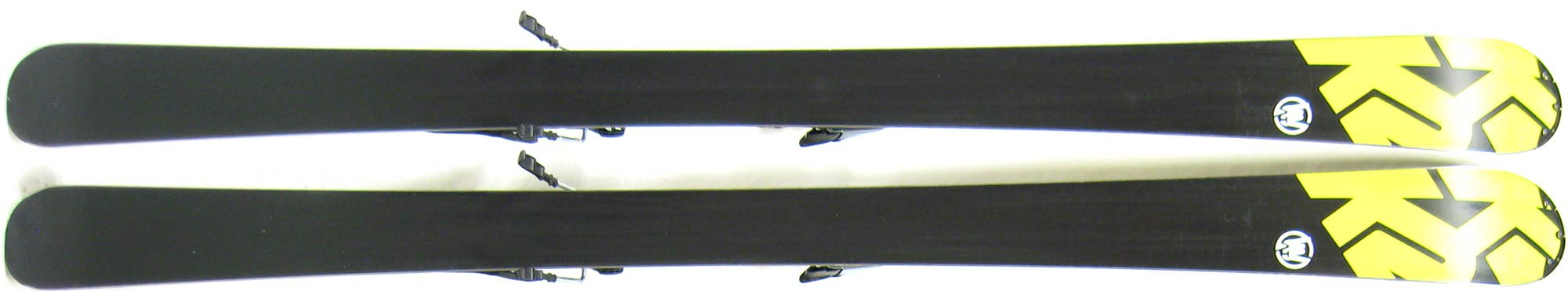 Bases of 2011 K2 Amp Shockwave Skis For Sale