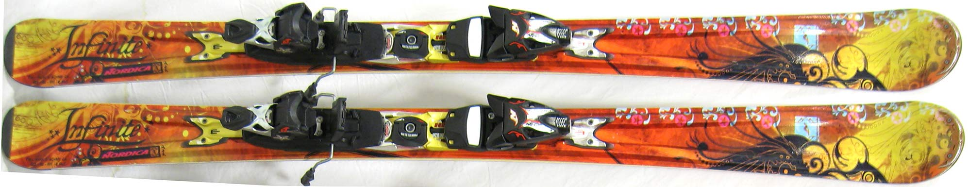 Topsheets of 2011 Nordica Infinite Skis For Sale