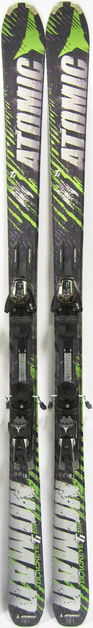 Topsheets of 2012 Atomic Nomad Blackeye Ti Skis For Sale