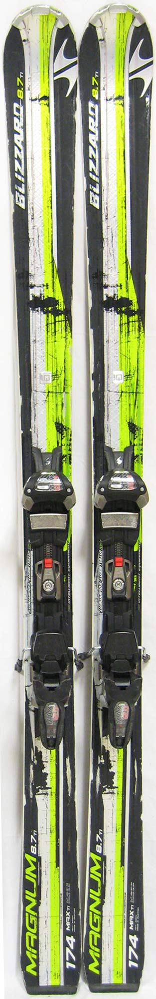 Topsheets of 2012 Blizzard Magnum 8.7 TI IQ Max Skis For Sale