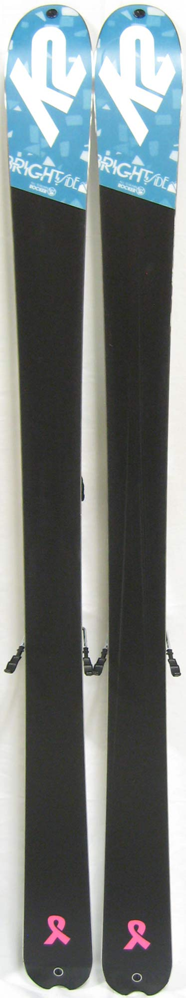 Bases of 2012 K2 Brightside Skis For Sale