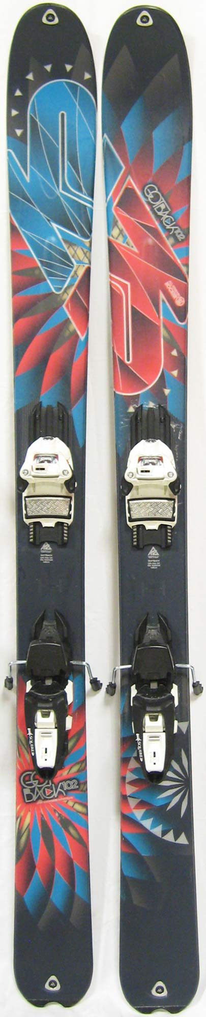 Topsheets of 2012 K2 GotBack Skis For Sale