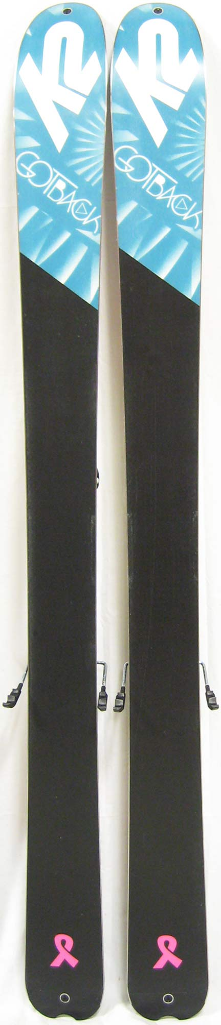 Bases of 2012 K2 GotBack Skis For Sale
