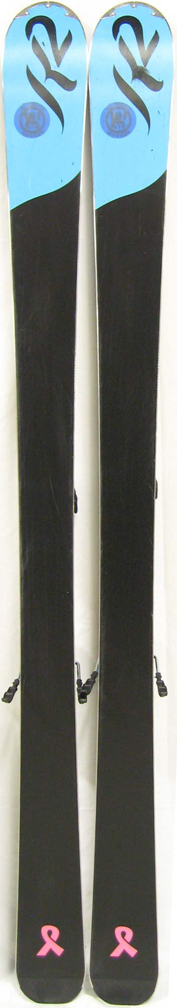 Bases of 2012 K2 SuperStitious Skis For Sale