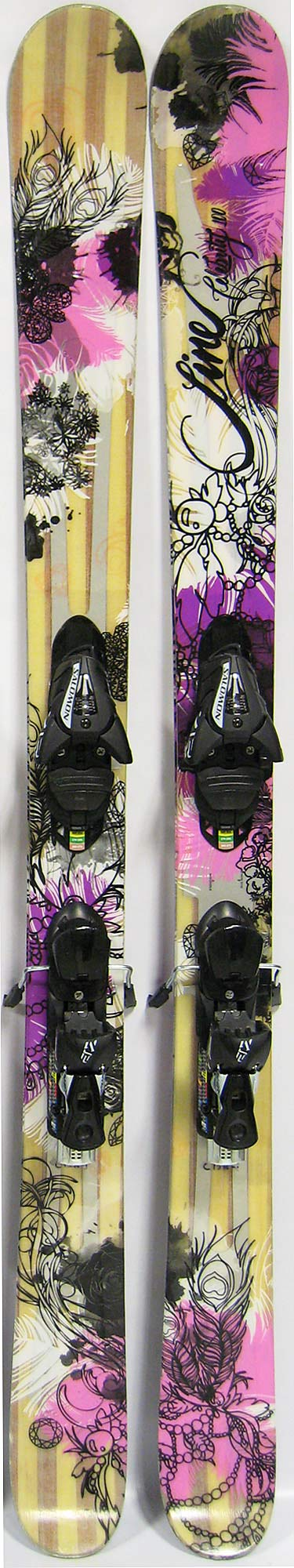 Topsheets of 2012 Line Celebrity 100 Skis For Sale