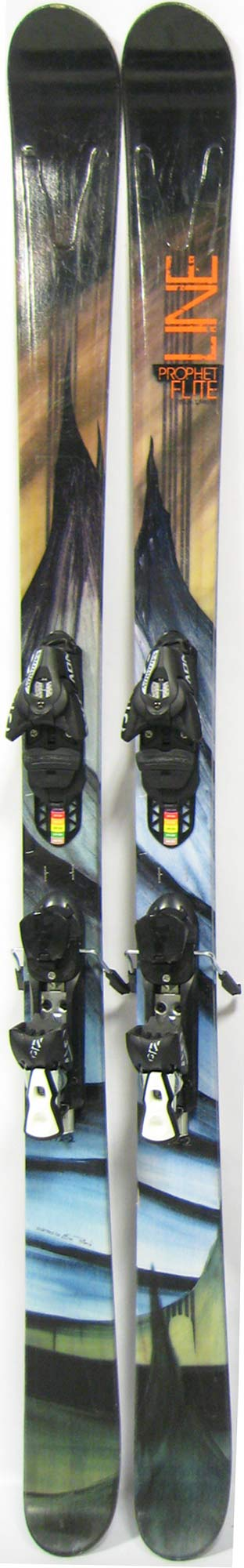Topsheets of 2012 Line Prophet Flite Skis For Sale