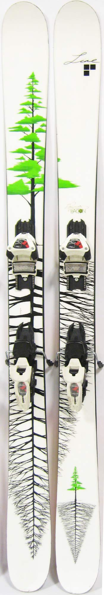 Topsheets of 2012 Line Sir Francis Bacon Skis For Sale