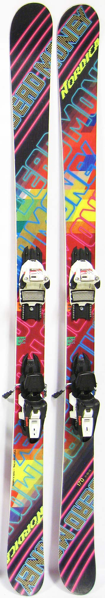 Topsheets of 2013 Nordica Dead Money Skis For Sale