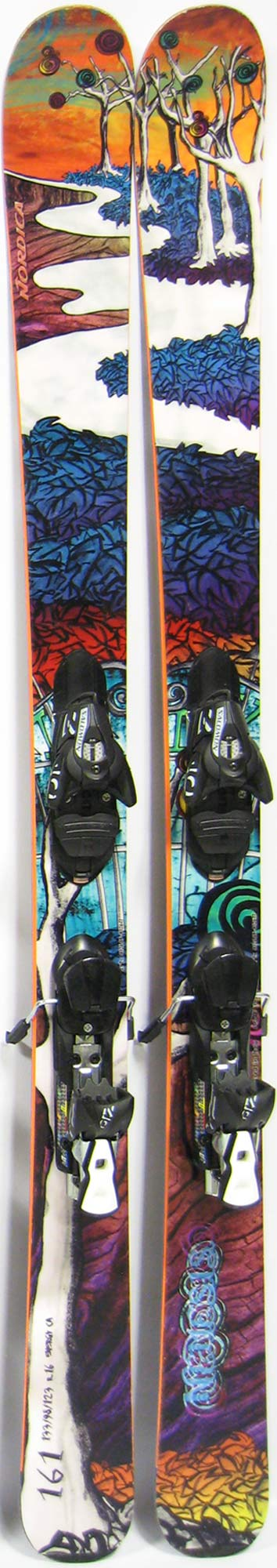 Topsheets of 2012 Nordica Nemesis Skis For Sale