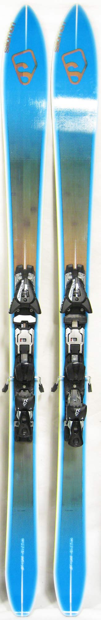 Topsheets of 2012 Salomon BBR 8.9 Skis For Sale