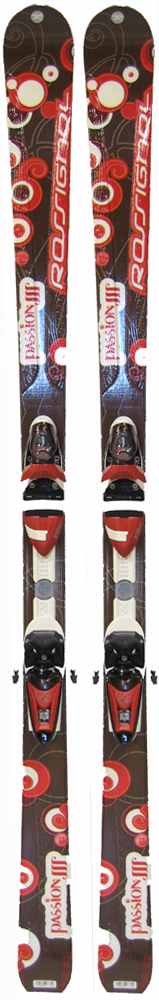 Topsheets of 2008 Rossignol Passion III Skis For Sale