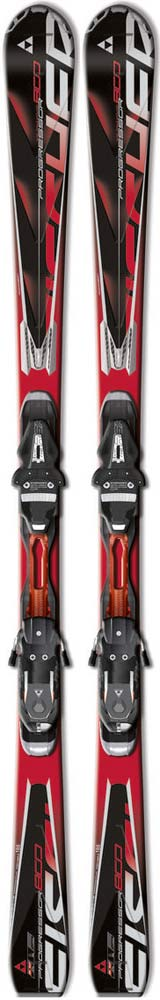Topsheets of 2012 Fischer Progressor 800 Powerrail Skis For Sale