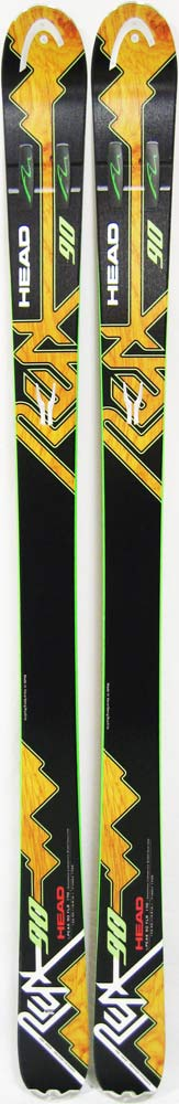Topsheets of 2012 Head i.Peak 90 FLR Skis For Sale