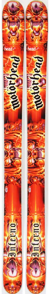 Topsheets of 2012 Head Inferno Skis For Sale