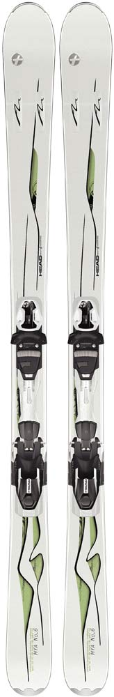 Topsheets of 2012 Head Mya No. 6 PR Pro Skis For Sale
