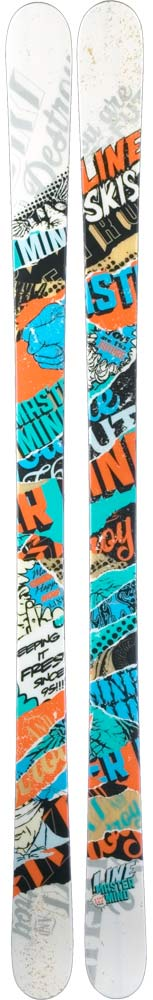 Topsheets of 2012 Line Mastermind Skis For Sale