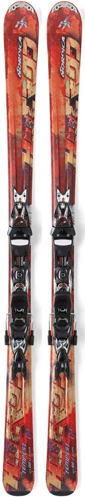 Topsheets of 2012 Nordica Hot Rod Tempest Skis For Sale
