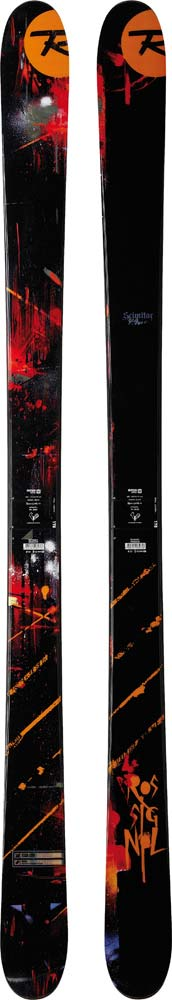Topsheets of 2012 Rossignol Scimitar Skis For Sale